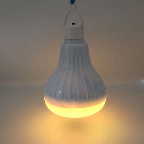Yellow Wireless Bluetooth Led Bulb Speaker shop smartcooldeals