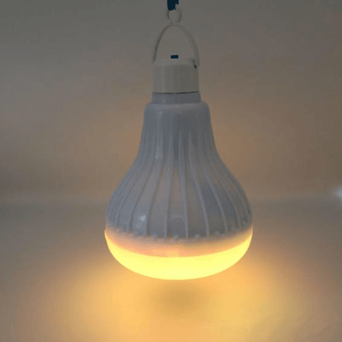 Image of Yellow Wireless Bluetooth Led Bulb Speaker shop smartcooldeals