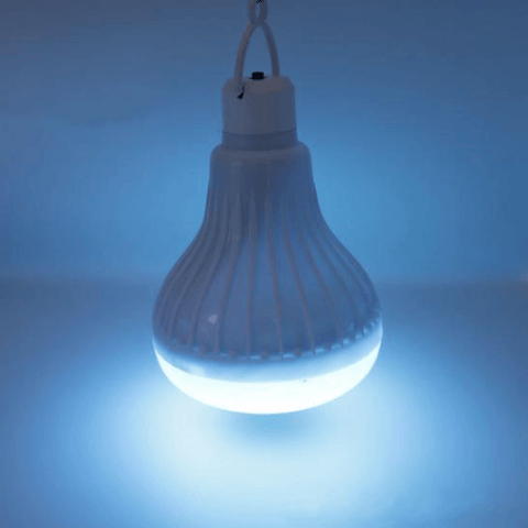 Image of Blue Wireless Bluetooth Led Bulb Speaker get yours at smartcooldeals.com