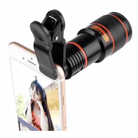 entirely universal clip technology allows you to use the lens on any smartphone