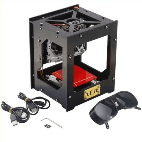 Image of The Personal Laser Engraver is a Do-It-Yourself Laser Engraver high precision and high stability, that makes it amazingly easy to engrave designs onto everyday items like a professional, without the need for oversized equipment that can cost tens of thousands of dollars!