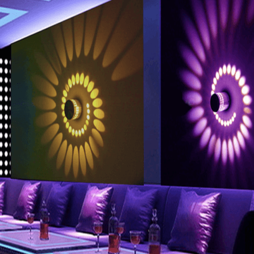 Best deal onLED Spiral Wall Lamps at smartcooldeals.com