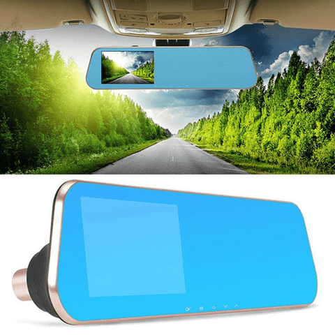 Get your 1080p Rear View Mirror Dash Camera at smartcooldeals.com