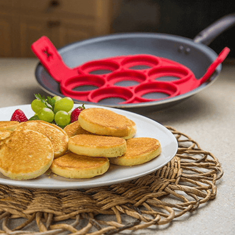 Image of Pancakes/ Eggs Silicone Moulds | smartcooldeals