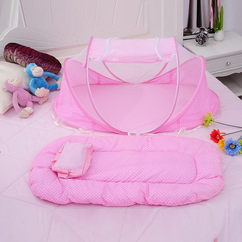 Everything it's included baby portable Foldable Crib