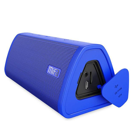 Blue Portable Waterproof Bluetooth Speaker