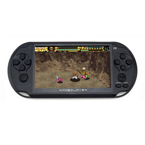 "5.0"" game console"