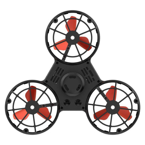 Black Flying Fidget Spinner
