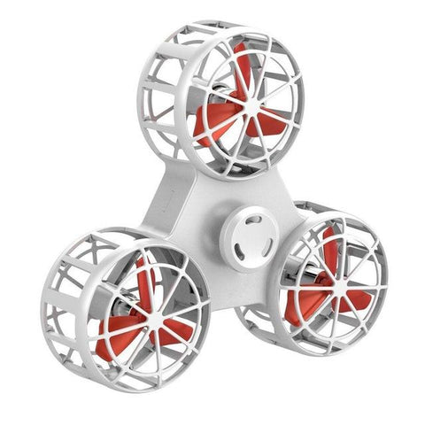 White Flying Fidget Spinner