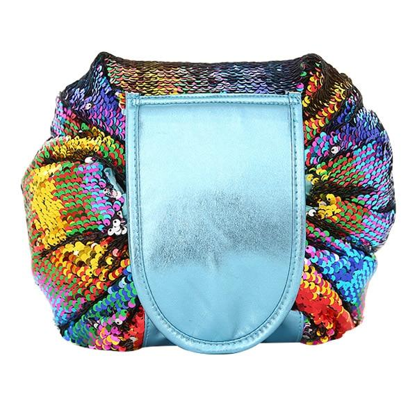 Multi-color Mermaid Sequin Cosmetic Bag | smartcooldeals.com