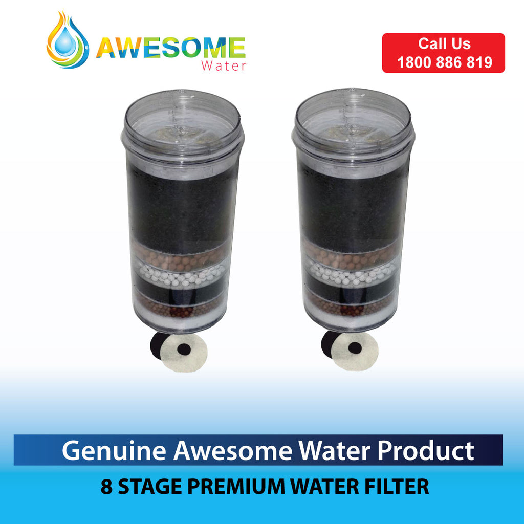 AWESOME WATER BUY ONE 8 STAGE FILTER GET ONE FREE! + FREE SHIPPING
