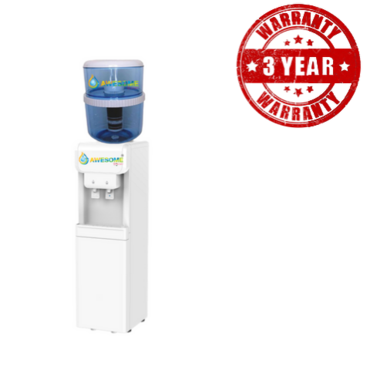 Awesome Water Cooler Free Standing Hot & Cold Dispenser - Available in White