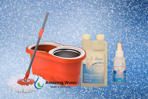 Cleaning Bundle (Mop, Spray and Sanitiser)