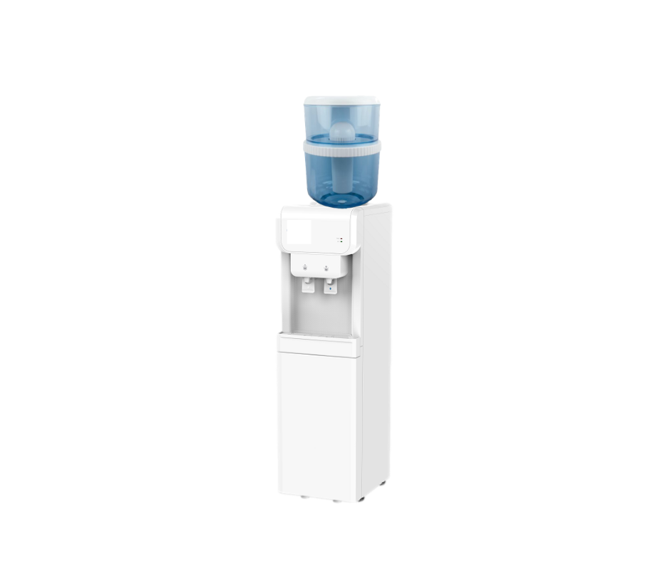 Free Standing Cold & Ambient Dispenser - Available in Black or White