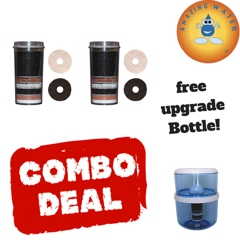 Massive filter Bundle , BUY 2 GET ONE FREE!  Bottle/upgrade kit! Huge value