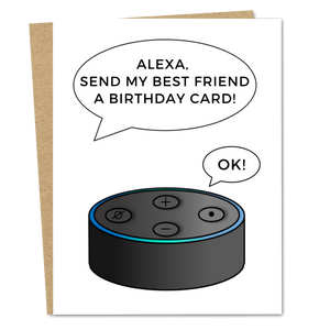 Alexa Send A Birthday Card - The Good Snail