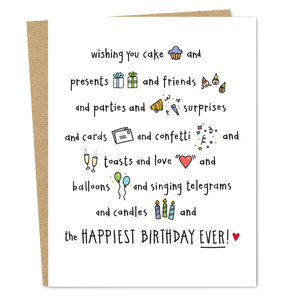 Happiest Birthday Ever! - The Good Snail