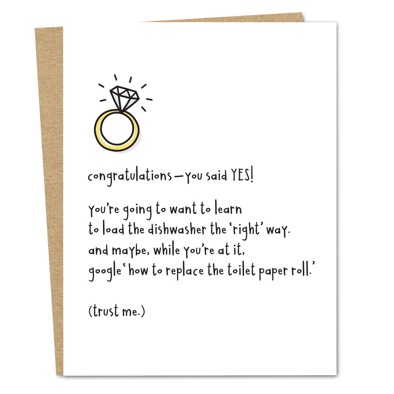 Congratulations You Said Yes - The Good Snail