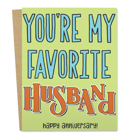You're My Favorite Husband