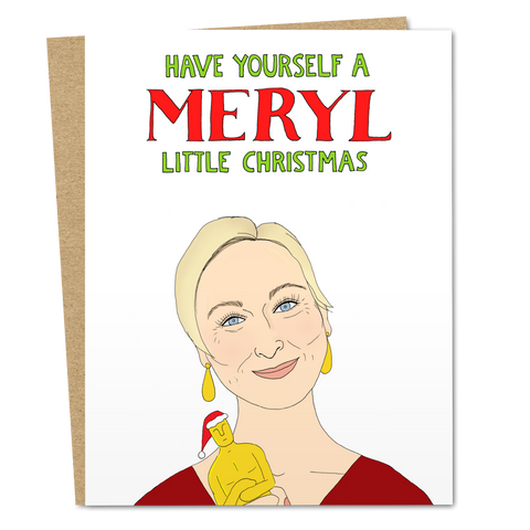 Have Yourself A Meryl Little Christmas - The Good Snail