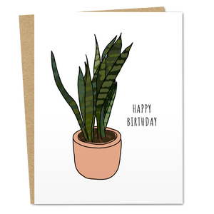 Happy Birthday Plant - The Good Snail