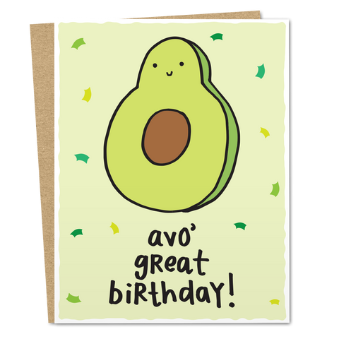 Avo' Great Birthday - The Good Snail