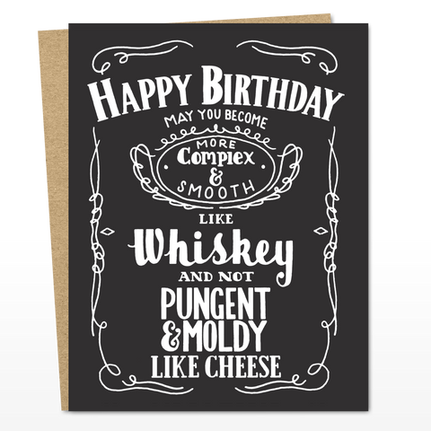 Whiskey Birthday