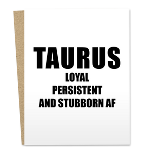Taurus Birthday
