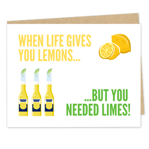 When Life Gives You Lemons Postponed Wedding