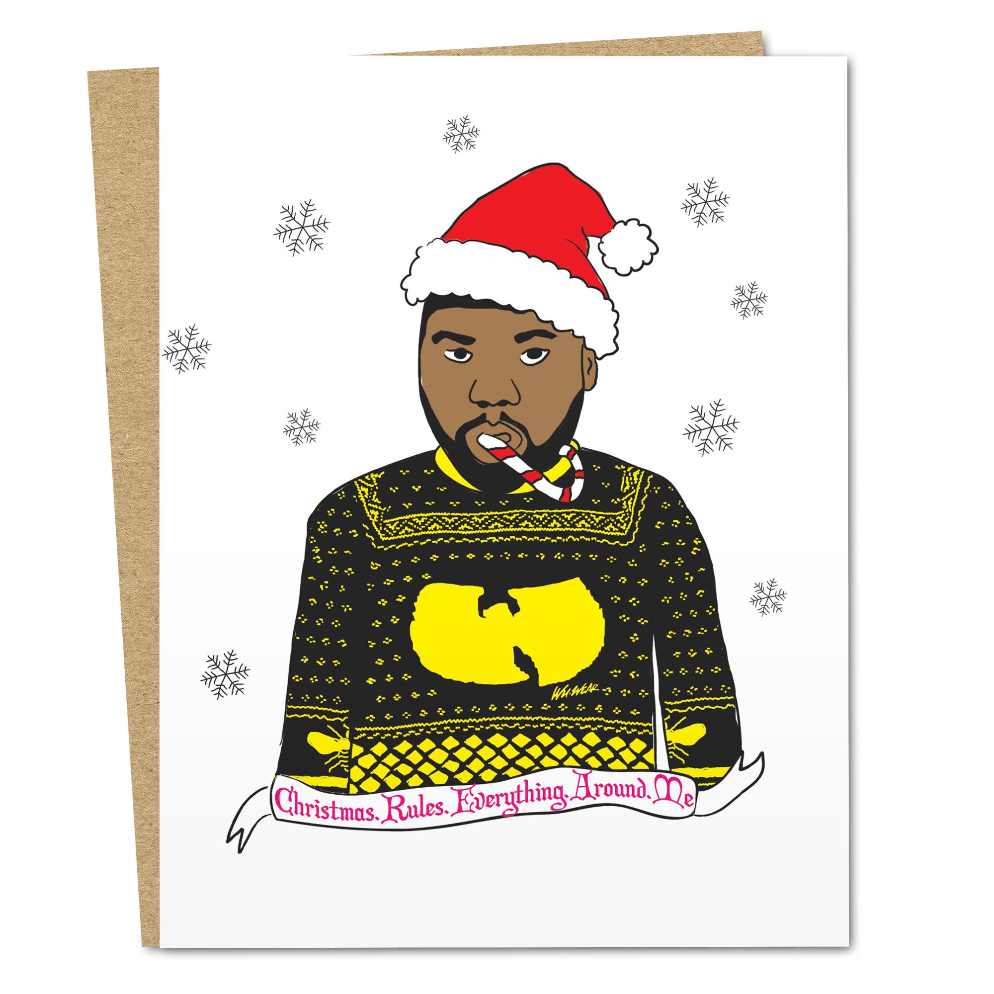 Wu Tang Ugly Christmas Sweater - The Good Snail
