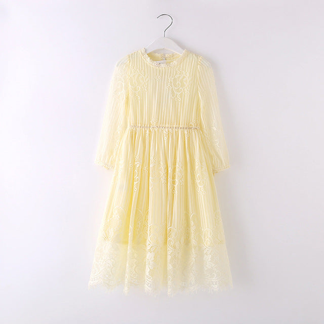 Sweet Flower Party Dress