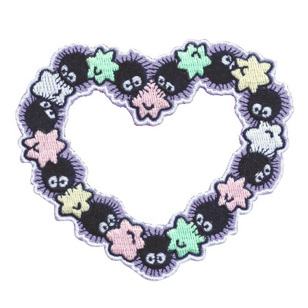 Soot Heart Patch