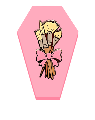 Bouquet of Brushes - deadcutepins