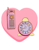 Sakura Cell Phone and Clock - deadcutepins