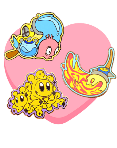 Sunshine Trio - deadcutepins