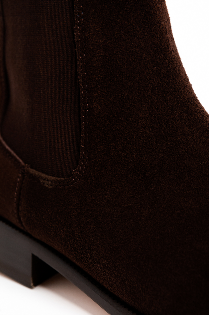 Hazelnut Chelsea Boot Bota Cafe Brown