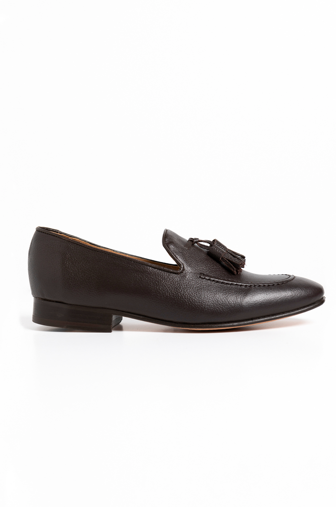 Tassel Loafers Hazelnut Marbella Cafe Brown