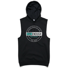 Man Enough - Sleeveless Hoody