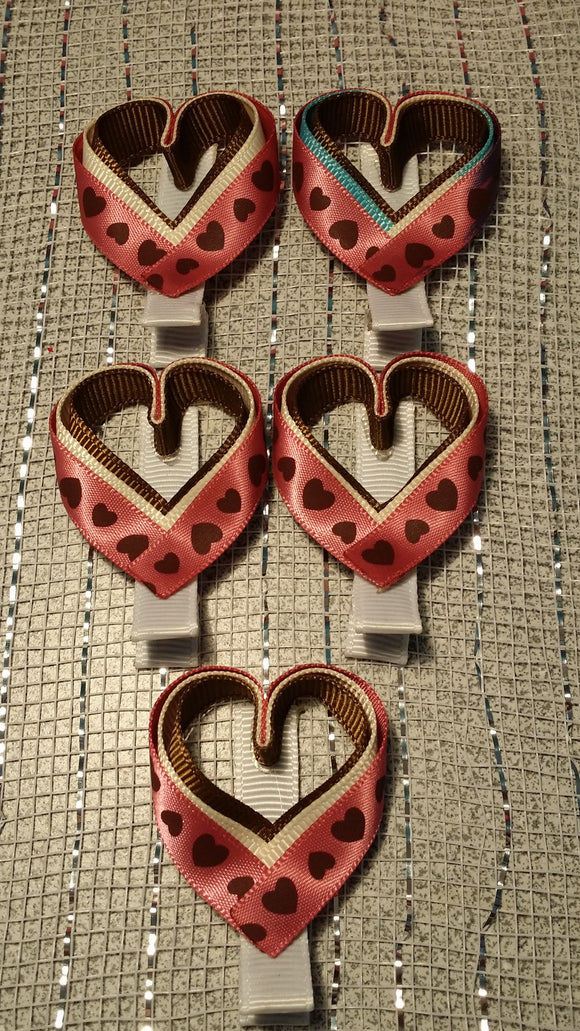 RIBBON SCULPTURES - HEARTS #3 - Sequins 'n Seashells Boutique