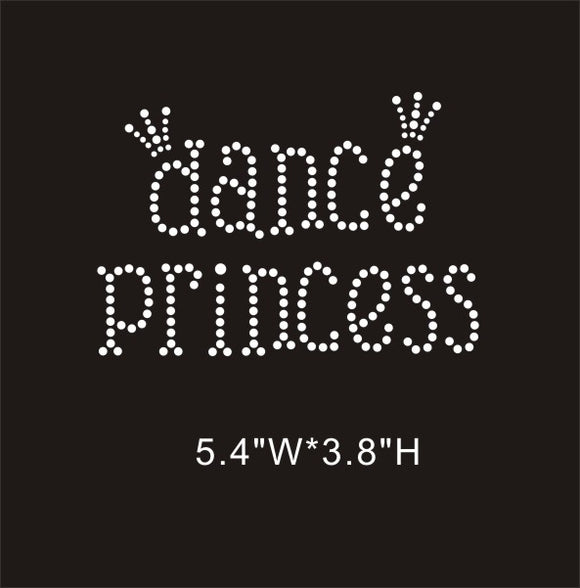 RHINESTONE TRANSFER - DANCE PRINCESS - Sequins 'n Seashells Boutique