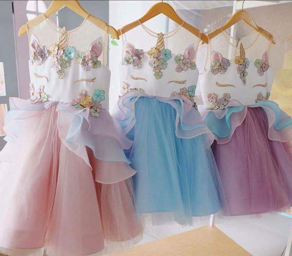 PRE-ORDER - UNICORN DRESSES - CLOSES 02/05 - Sequins 'n Seashells Boutique