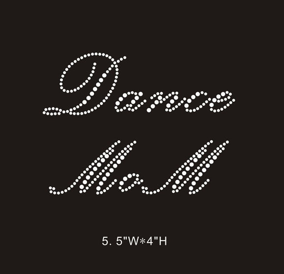 RHINESTONE TRANSFER - DANCE MOM - Sequins 'n Seashells Boutique