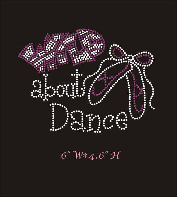 RHINESTONE TRANSFER - WILD ABOUT DANCE - Sequins 'n Seashells Boutique