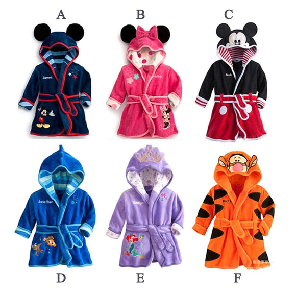 CHILDRENS DISNEY ROBES - Sequins 'n Seashells Boutique