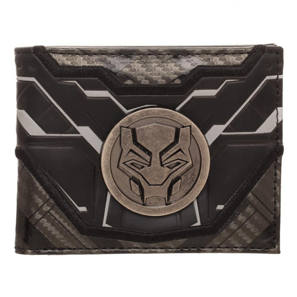 Black Panther Movie Bifold Wallet - Sequins 'n Seashells Boutique