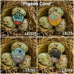"T.Wei x ""Pigeon Cone"""