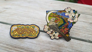 Langley Osborn x Arkansas Pin Set