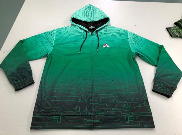 The Artistry x Tech Hoodie (Green)