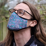 "Pepelen x ""Synthropic Lattice"" Face-Mask (Pastel)"
