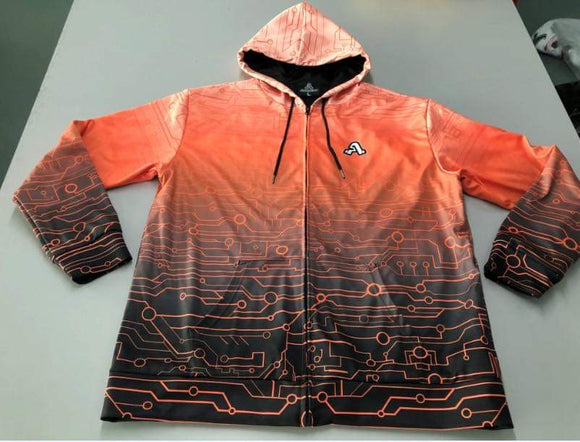 The Artistry x Tech Hoodie (Orange)
